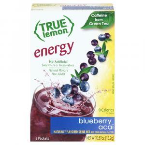 True Lemon Energy Blueberry Acai Sticks