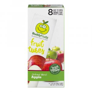 Buddy Fruits Tubes Orchard Blend Apple