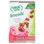True Lime Black Cherry Limeade Sticks