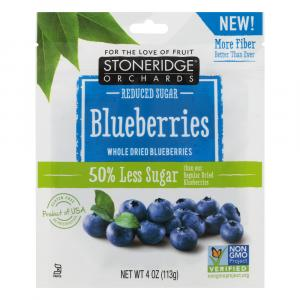 Stoneridge Orchards Reduced Sugar Dried Blueberries