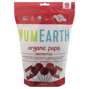 Yumearth Organics Organic Lollipops
