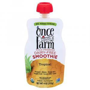 Once Upon A Farm Organic Tropical Dairy-Free Smoothie