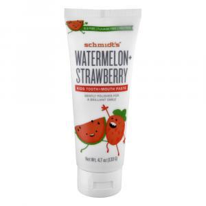 Schmidt's Watermelon + Strawberry Kids Toothpaste