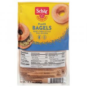 Schar Gluten Free Plain Bagels