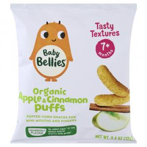 Baby Bellies Organic Apple & Cinnamon Puffs