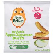 Baby Bellies Organic Apple & Cinnamon Puffs