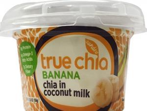 True Chia Banana Chia In Coconut Milk