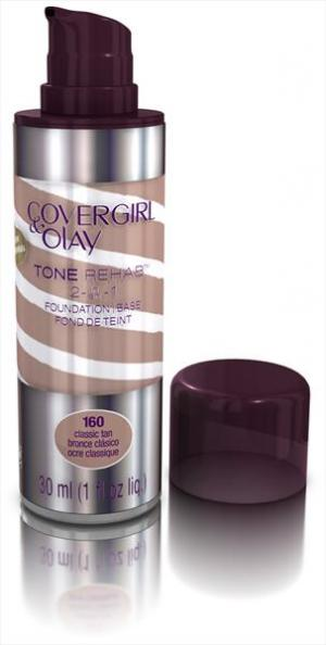 Covergirl Olay Foundation Tonerehab C