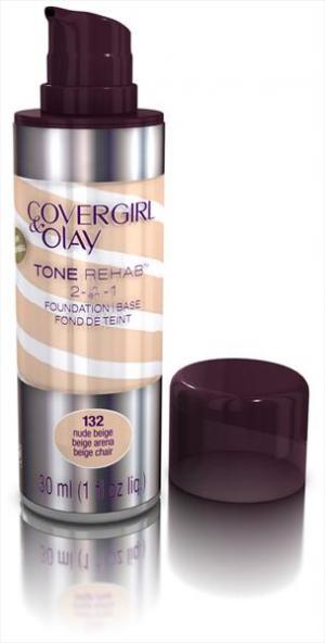 Covergirl Olay Foundation Tonerehab Nude Beige