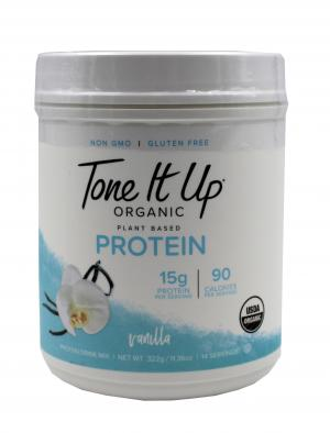 Tone It Up Organic Vanilla Plant Based Protein Drink Mix