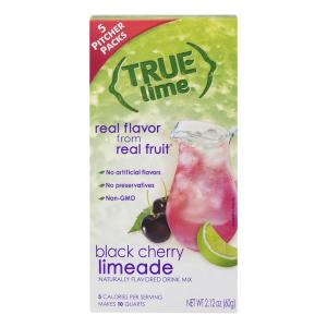 True Lime Black Cherry Limeade Naturally Flavored Drink Mix