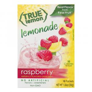 True Lemon Raspberry Lemonade Sticks