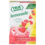 True Lemon Raspberry Lemonade Sticks