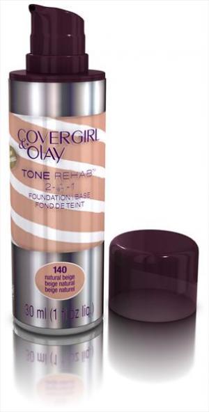 Covergirl Olay Foundation Tonerehab Natural Beige