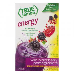 True Lemon Energy Blackberry Pomegranate Sticks