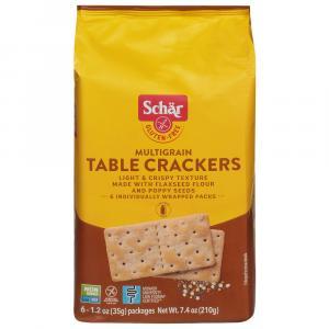 Schar Gluten Free Multigrain Table Crackers