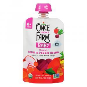 Once Upon A Farm Organic OhMyMega Veggie!