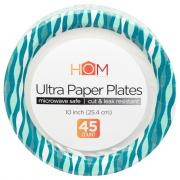 Homeworks Ultra Paper Plates 10 Inch Wave