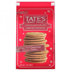 Tate's Bake Shop Limited Edition Gingersnap Cookies