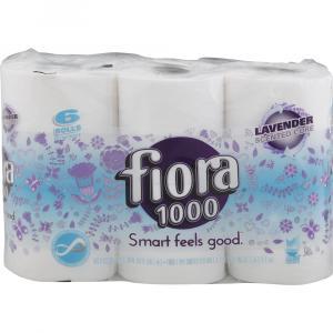 Fiora 1000 Lavender Scent Bath Tissue Rolls