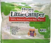 Happy Little Camper 100% Natural Cotton Baby Wipes