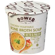 Power Provisions Chicken Vegetable Bone Broth Soup