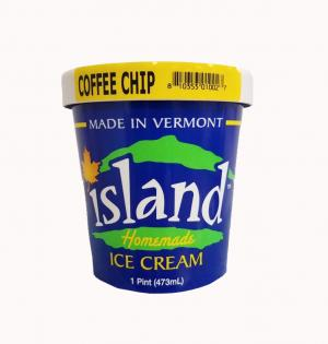 Island Homemade Coffee Chip Ice Cream