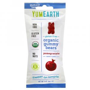 Yumearth Organic Gummy Bears Pomegranate