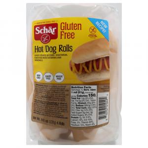 Schar Gluten Free Hot Dog Rolls