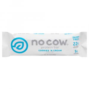 No Cow Cookies 'N Cream Protein Bar