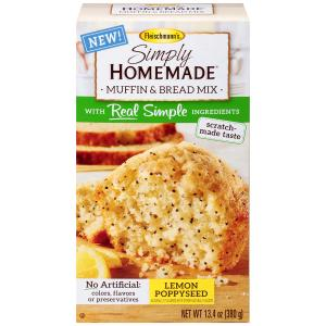 Simply Homemade Lemon Poppy Seed Muffin Mix