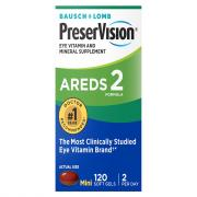 Bausch + Lomb PreserVision Areds 2 Formula Soft Gels