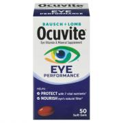 Bausch + Lomb Ocuvite Eye Performance Soft Gels