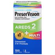 PreserVision Areds 2 & Multivitamin Soft Gels