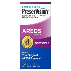 Bausch + Lomb PreserVision AREDS Soft Gels