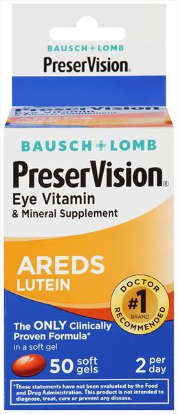Bausch + Lomb Preservision Lutein
