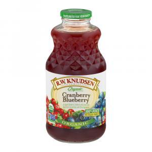 R.w. Knudsen Organic Cranberry Blueberry Juice