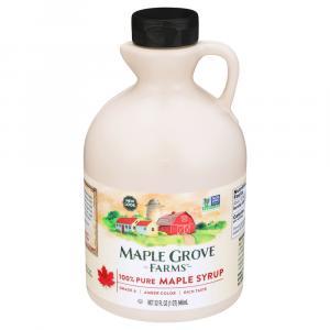 Maple Grove Farms Dark Amber Pure Maple