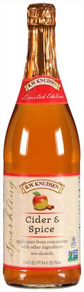 R.W. Knudsen Sparkling Cider & Spice Juice