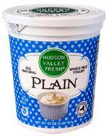 Hudson Valley Fresh Plain Whole Milk Yogurt