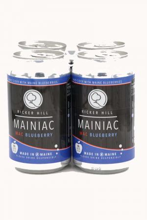 Ricker Hill Mainiac Mac Blueberry Hard Cider