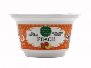 Hudson Valley Fresh Peach Whole Milk Yogurt