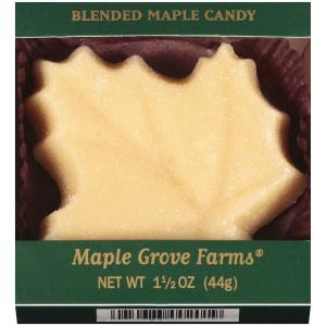 Maple Grove Farms Vermont Maple Large Leaf Candy