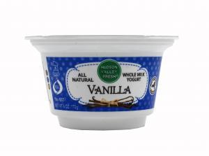 Hudson Valley Fresh Vanilla Whole Milk Yogurt