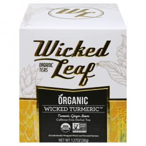 Wicked Leaf Organic Wicked Turmeric Herbal Tea