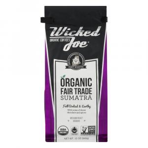 Wicked Joe Organic Sumatra Ground Coffee