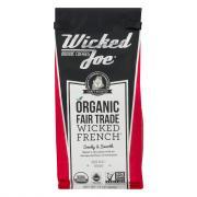 Wicked Joe Organic French Roast Ground Coffee