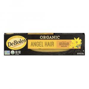 DeBoles Organic Artichoke Angel Hair Pasta