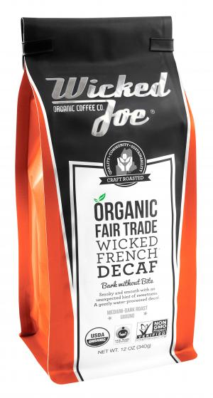 Wicked Joe Decaffeinated French Roast Ground Coffee