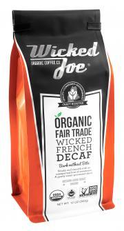 Wicked Joe Decaffeinated French Roast Ground Coffee